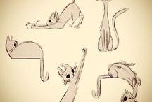 Art ref - cats