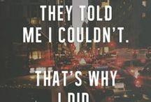 INSPIRE ME :)