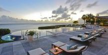 Spectacular Villas in St.Maarten / Take a little of your time to start dreaming about these amazing luxury real estate that can be yours. All on the beautiful island of St.Maarten