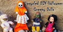 My Halloween DIYs / All of my upcycled refashionista Halloween DIYs to make your spooktacular holiday a treat!
