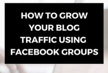 Social media / Social media strategies to grow your online business and blog.