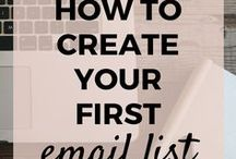 Email marketing / Email list, newsletter and lead generation to help you monetize your blog.