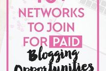 Make money blogging / Make money with your blog, affiliate programs or courses