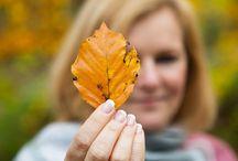 autumn / Freuden des Herbstes. Raschelnde Blätter, goldenes Licht und heißer Kakao mit Marshmellows. #herbstliebe