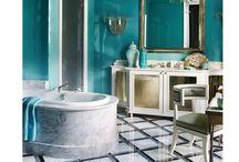 Dilly dally in these elegant baths / Elegant bathrooms