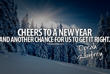 New Year Quotes Cards / Send free New Year Quotes Cards to your family and friends. / by Pearl Aman