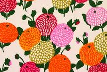 Patterns - Floral / Floral patterns and flower surface designs.