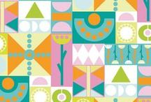 Patterns - Graphic  and geometric / Pattern and surface designs. Graphic and Geometric