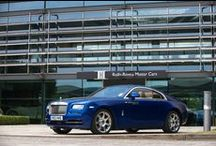 Wraith / The Rolls-Royce motor car with the power, style and drama to make the world stand still is here.