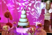 Wedding Cake Table Illumination / Not your average wedding cake... / by Elizabeth Terry