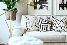 Living Room Makeover / Inspiration for my living room makeover