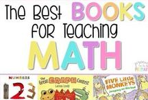 Literature for Teaching Math / Ideas, activities and resources for using children's literature to teach math / by Math Coach's Corner