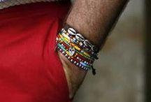 Bracelets... / #grooming #cosmetics #shaving #beards #mensgrooming #laundry #cosmetics #menswear #mensfashion #aftershave #beauty #mensaccessories #men #fashion #sartorial #mensjewellery #mensjewlry #bracelets #cuffs #accessories #gifting