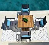 Knightsbridge Collection / The Knightsbridge collection offers a strong and stylish table perfect for any balcony or terrace. Find the collection here! http://www.indian-ocean.co.uk/catalogsearch/result/?q=knightsbridge