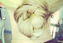 """Hair Inspiration: """"Get out of the Rut"""" Hair Styles / Sometimes it just takes a little inspiration to get out of the rut with my typical pony tail look.  / by Jen (Balancing Beauty and Bedlam blog"""