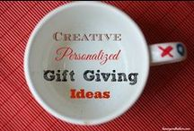 Easy, Frugal Gift Ideas  / We all have those hard to buy for people in our lives, let's get creative. Here are some gift giving ideas.