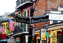 NAWLINS....MY FATHER'S ROOTS STARTED HERE / My father's parents were born and raised in the French Quarter of New Orleans.  He was English and she was French.  My father was also born here.  I love this city. / by Carolyn Fisk