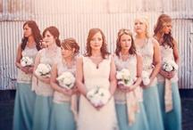 WEDDING POSE'S - BRIDES & MAIDS