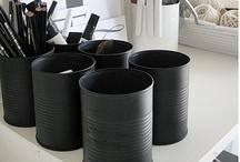 Recyclage de boîtes  ~ DIY box...