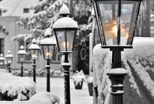 L'hiver et son manteau blanc...