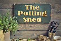 Potting sheds...