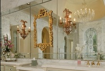 ♔ Powder Room ♔ / Luxury Bathrooms and Powder Rooms / by Très Haute Design Diva