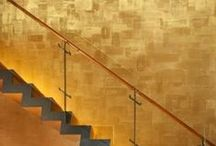 Gold Interior / Interior Design and Decor using Gold