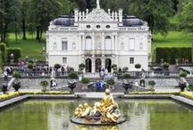 French Château ♔ / French Style Palaces and Châteaux and their Interior Decor