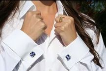 Cufflinks For Women / Add some sparkle to your outfit with a pair of cufflinks.