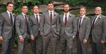 The Groom and His Men / What to wear for your wedding? Regardless of the location, this is your chance to  really go for it. Stand out from the rest with elegance and style.