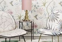 Wallpapers / Create life and atmosphere in your home with modern wallpapers. Get inspired by our favourite wallpaper design ideas here.