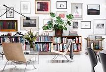 Gallery Walls / Want ideas for arranging your own gallery wall? Find inspiration for making a creative and modern gallery wall here.