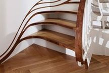 Stairs / Wooden stairs, concrete stairs, floating stairs, steel stairs, spiral stairs and more. Find architectural inspiration for your staircase here.