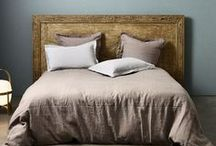 Headboards / Choose a headboard to match your personal style, whether it be upholstered, wooden or even made by yourself.