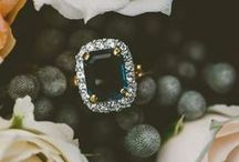 Wedding / Peacock blue sapphires & gold   / by Kelsi