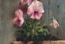 Flowers in Art / Inspiring flower art