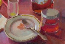 Still lifes in paint / Inspring paintings of still lifes