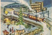 Let's Countdown: Advent Calendars / I've always loved advent calendars!  Countdown to Christmas