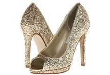 Bridesmaid Shoes / Variety of Choices for Gold Shoes