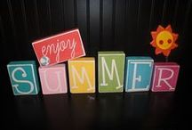 Summertime Inspiration / Cute & fun ideas to bring summer into the home