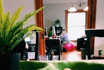 "Our Creative Style/ Our Office / See the space that we call our ""creative"" home, along with a ton of our personal flair!"