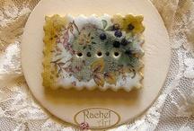 Ceramic Buttons / by Rachel Art