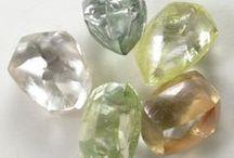 Loose Diamonds, Polished Diamonds, Rough Diamonds. / A compilation of images of diamonds. Diamond shapes, loose diamonds, and information images of #diamonds