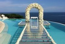 Wedding Venues / A selection of hotels and ideas for wedding venues, for the Big Day!