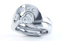 Unique and Unusual Engagement Rings / A wide collection of Unique #Engagement Rings and Unusual Engagement rings. All rings are #Unique either by their composition, or by their design, offering the client the opportunity for a truly #Unusual ring.