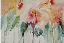 Art / learning watercolor / by Nancy Ewing