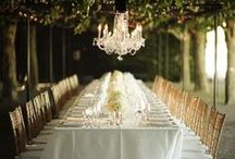 Reception ideas / Awesome reception locations, al fresco dining, under the stars, pretty lights