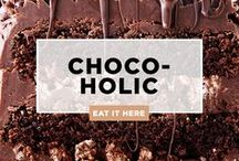 All Things CHOCOLATE / Chocoholics unite because this is the mecca of all things mocha and malted and...
