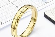 Wedding Rings for your Inner Geek / A collection of unique wedding rings for the inner Geek. From Dr. Who inspired wedding rings, to Lord of the Rings inspired wedding rings, hopefully this board provides some inspiration that deviates considerably from the traditional style of wedding band.