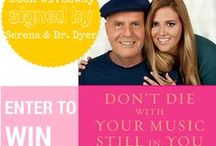 Don't Die With Your Music Still In You / Co-authored with my dad, Dr. Wayne Dyer, I have written a book about growing up in a spiritual environment and what I have learned about self-worth and following my dharma. Growing up with spiritual parents has taught me that receiving all the love and wisdom in the world is a beautiful thing, but it won't help you, until you learn to love and treasure every part of yourself.
